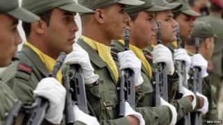 Tunisian soldiers