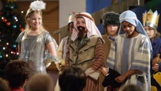 EastEnders' nativity play in 2007