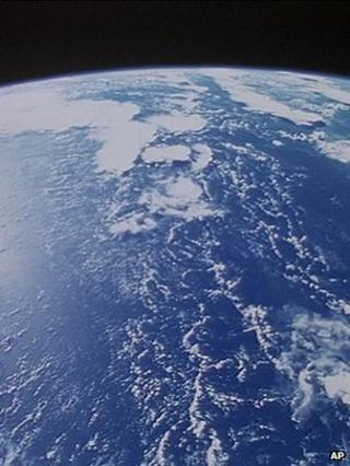 Earth from space (Image: AP)