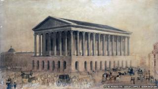 Artists impression of Town Hall Birmingham