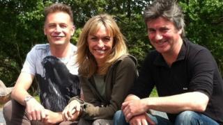 Chris Packham, Michaela Strachan and Martin Hughes-Game
