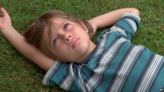 Actor Ellar Coltrane seen in a scene from Boyhood