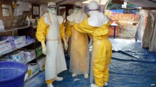 MSF staff in Conakry, 15 Nov