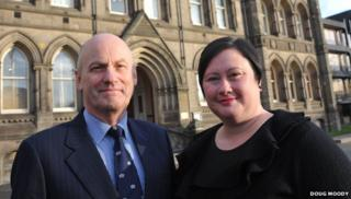Teesside assistant coroner Malcolm Donnelly and acting senior coroner Claire Bailey