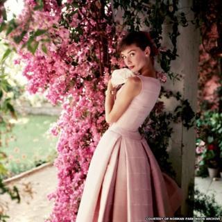 Audrey Hepburn photographed by Norman Parkinson in 1955