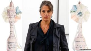 Tracey Emin and her Brit trophy design