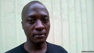 Douglas Ochwodho Ondari in Nairobi