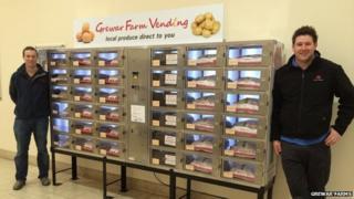 Veggie vending