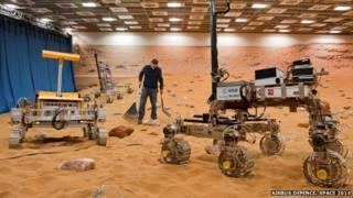 mars rover prototype