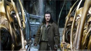Luke Evans fel Bard yn The Battle of the Five Armies