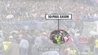 Paul Eason at Hillsborough