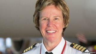 Georgina Sutton is one of only a handful of female chief pilots in the world
