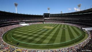 A general view is seen during day two of the Fourth Ashes Test Match between Australia and England at Melbourne Cricket Ground on December 27, 2013
