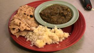 Curry made from 'waste' food