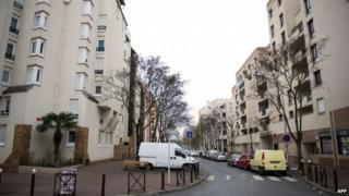 Creteil outside Paris