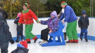 Risby Hall and Park nursing homes ice rink