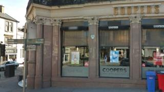 Coopers bar in Glasgow