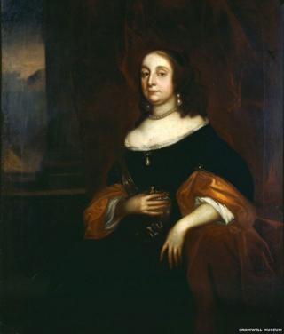 Elizabeth Cromwell (1598-1665), Her Highness the Protectoress by Robert Walker
