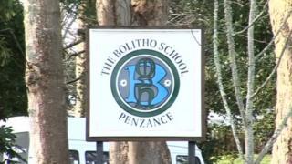 Bolitho School sign