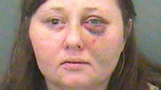 Gemma Hollings was jailed for eight years after being convicted for two counts of grievous bodily harm.