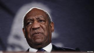 Actor Bill Cosby appeared in New York on 15 November 2014