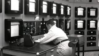 Control room at Dounreay