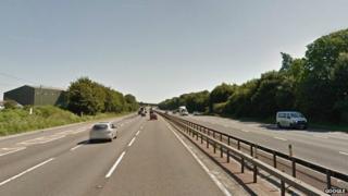 A12 near Hatfield Peverel