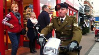 Brian Harbottle, veteran Sherwood Forester