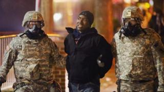 Man arrested in Ferguson
