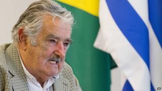 President Jose Mujica 7 November 2014