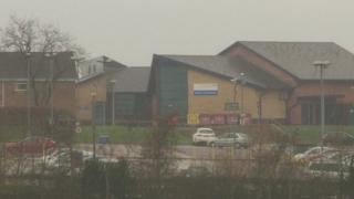Royal Blackburn Hospital's mental health unit