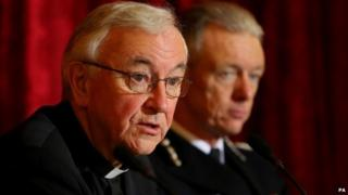 Cardinal Vincent Nichols and Sir Bernard Hogan-Howe