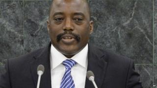 Joseph Kabila at the UN