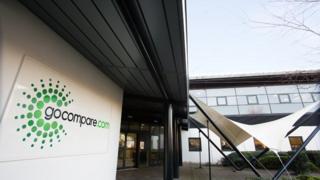 Gocompare's Newport office