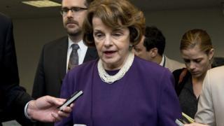 US Senator Diane Feinstein
