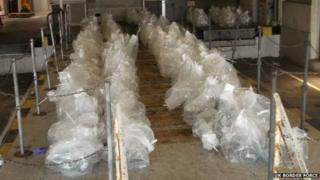 Drugs worth an estimated £5.6m were found in the lorry in France