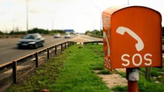 Motorway SOS phone