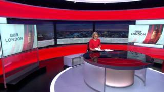 BBC London set