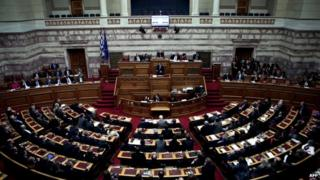 Greek parliament (Dec 2014)