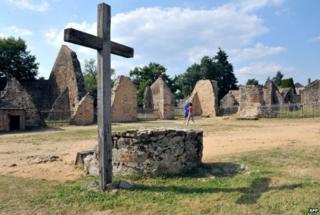 Village of Oradour-sur-Glane (file pic)