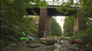 Rubbish in Goldthorpe