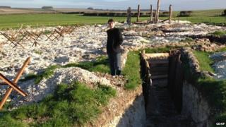 GDSF trenches