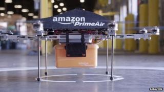 Amazon Octocopter