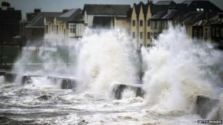 Waves at Prestwick