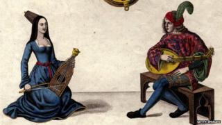 Lute players