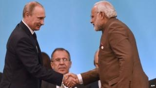 Indian media: Putin's visit to boost Delhi-Moscow ties