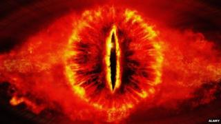 The Eye of Sauron in Lord of the Rings