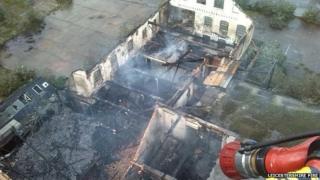 Bradgate Street fire