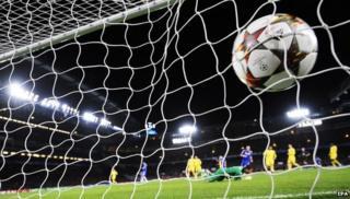 Goal scored at Stamford Bridge