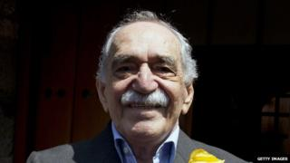 Gabriel Garcia Marquez on his 87th birthday in Mexico City on 6 March, 2014.